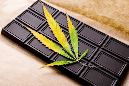cannabis chocolate bar