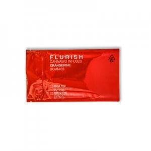 Flurish THC Crangerine Gummies