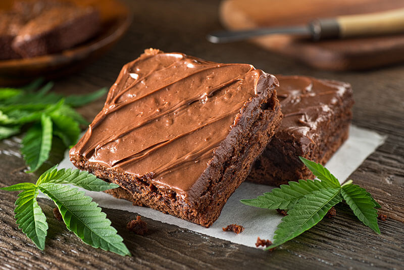 cannabis consuming methods - edibles