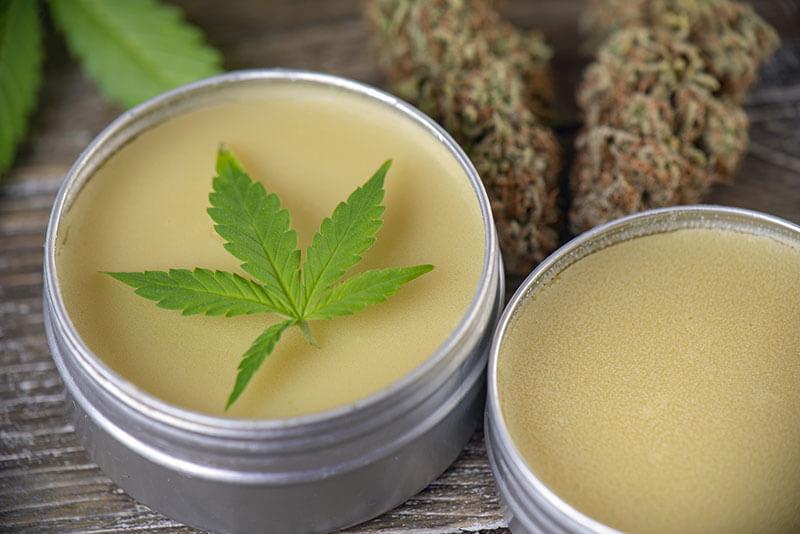 cannabis consuming Topicals- edibles