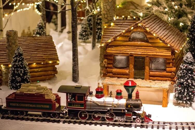 Cannabis Infused Gingerbread House