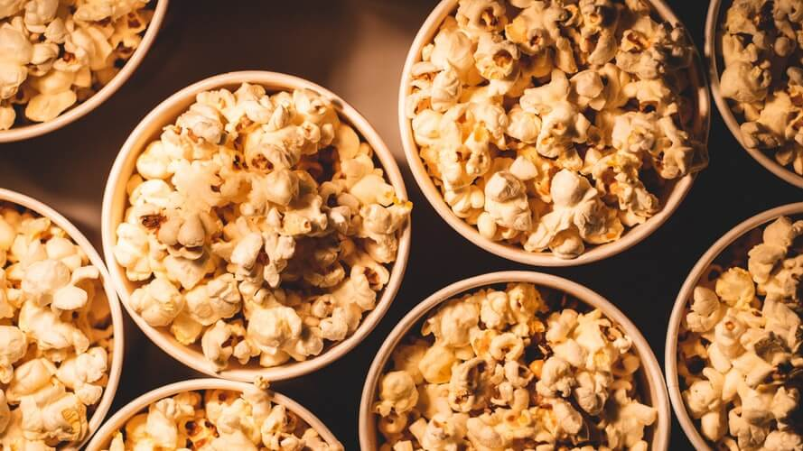 Cannabis-Infused Salted Popcorn for National Popcorn Day